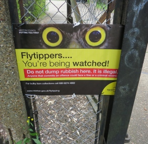 Flytipping warning