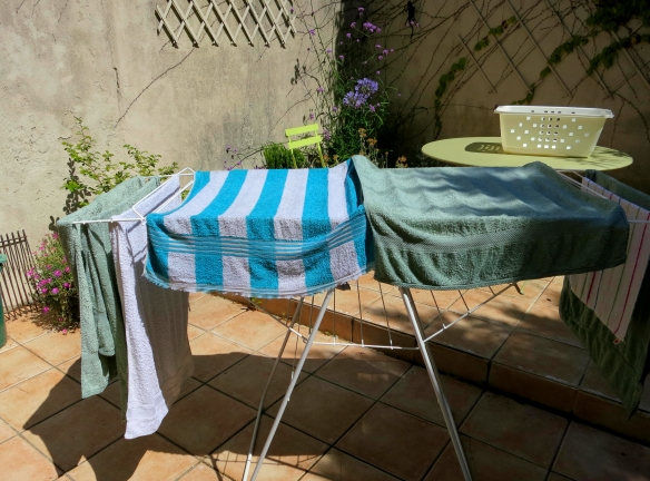 Towels drying 7.12
