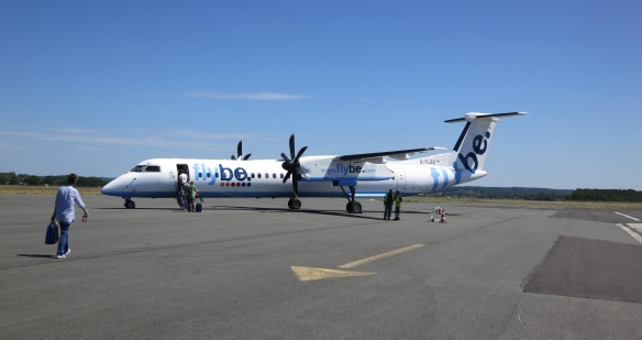 Flybe plane 8.12