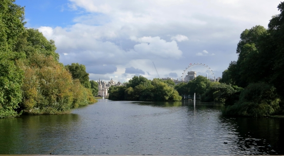 The London Eye from St. James's Park 9.12