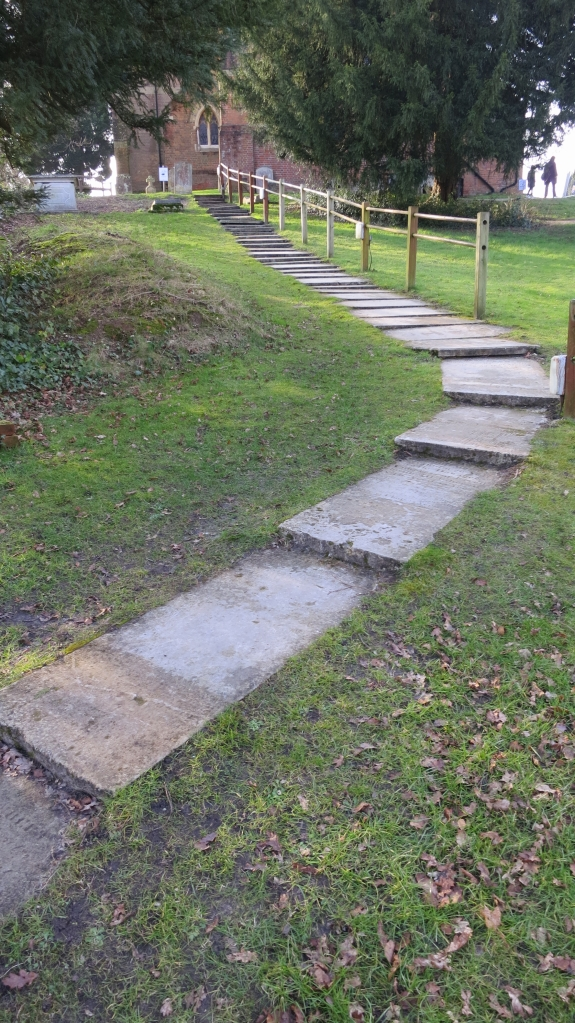 Gravestone steps, St Michael and All Angels 2.13