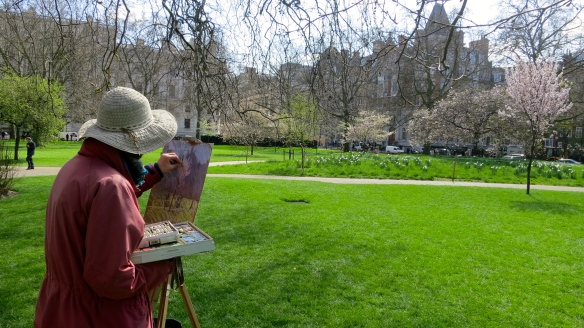 Pastel Painter, St. James's Park