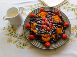 Shelley's fruit flan