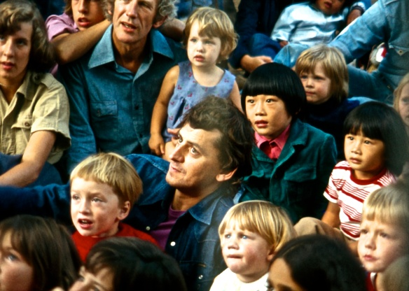 Punch & Judy audience, Soho Festival, 9.76 (1)