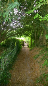 Curch footpath gate