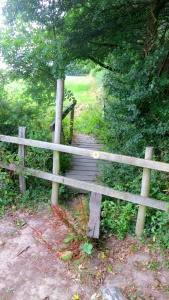Footpath and stile to Primrose and Champion field