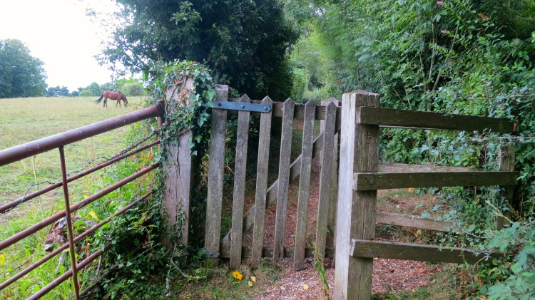 Gate to Bull Lane footpath