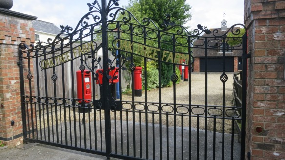 Oak Tree Farm pillar boxes