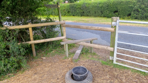 Stile to Primrose and Champion footpath