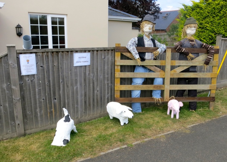 Bisterne young farmers scarecrow