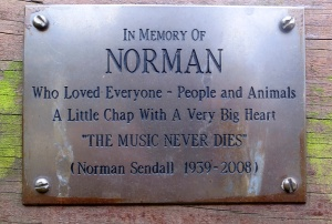 Norman plaque