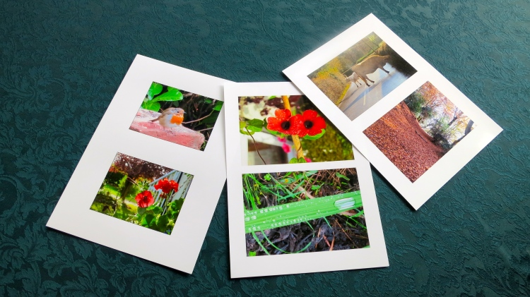Prints for cards