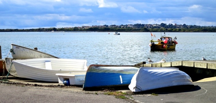 Boats on quay