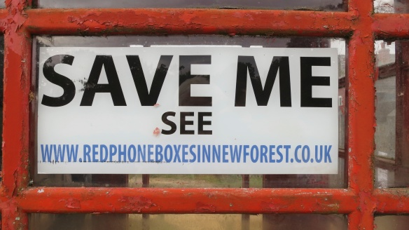 Save Me (Phone box)
