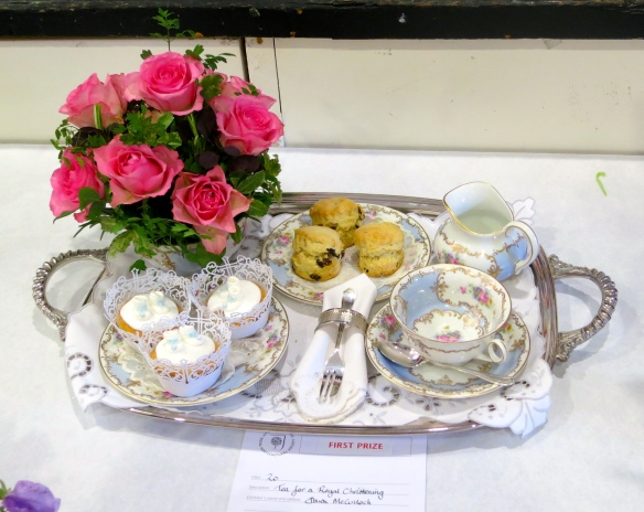 Tray for a royal christening first prize