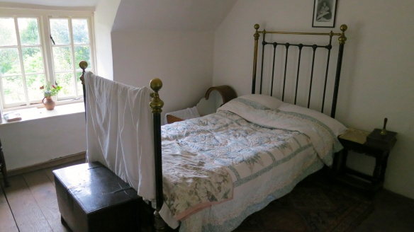 Bedroom in Hardy's cottage