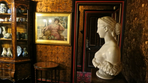 Bust in room, Russell-Cotes museum
