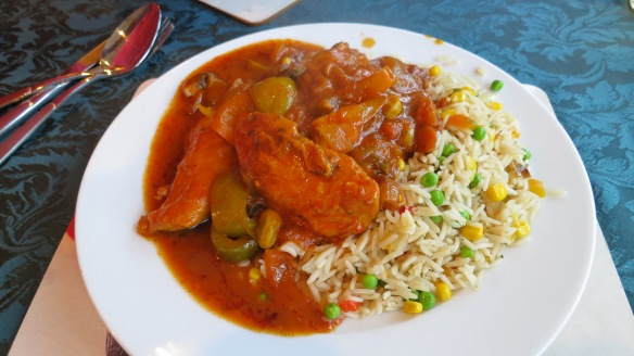Chicken jalfrezi meal