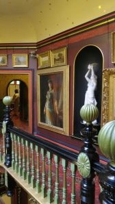 Corner of galleried landing, Russell-Cotes museum