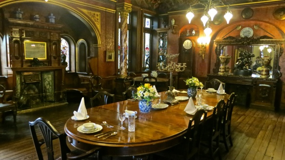 Dining room, Russel-Cotes Museum