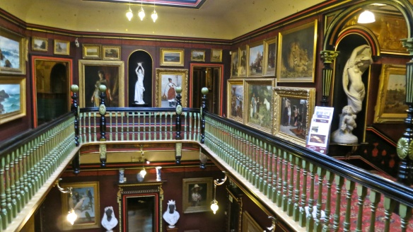 Galleried landing, Russell-Cotes Museum
