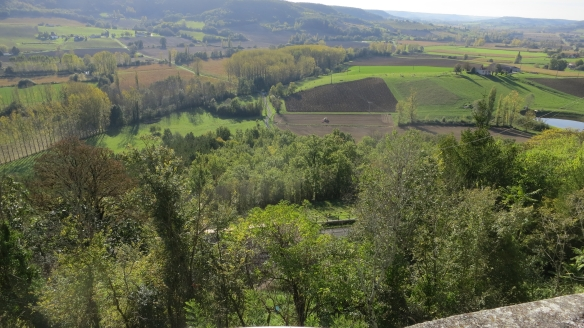 Landscape from Tournon