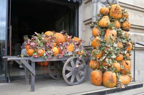London Dungeon pumpkins