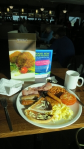 Mitchell's big breakfast
