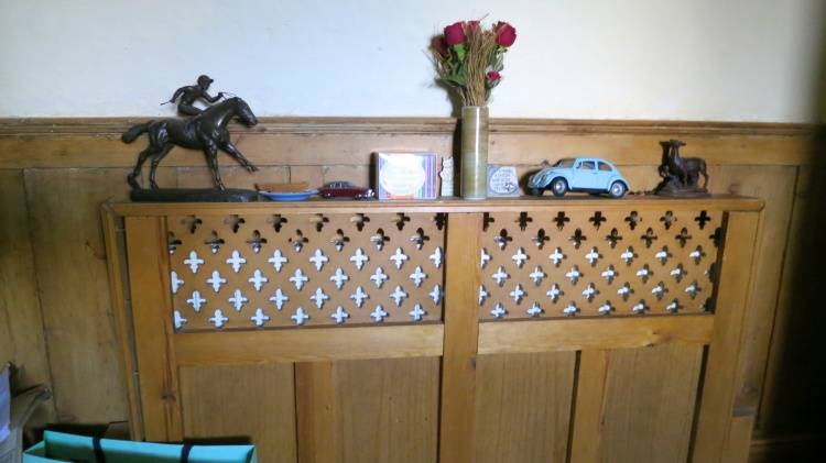 Panelling and radiator cover