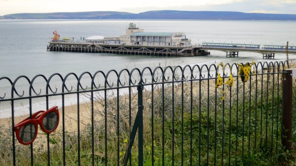 Railings above Bournemouth pier
