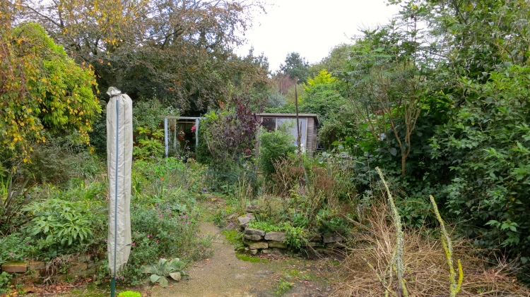 The old Post House garden