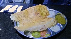 Dosa and sauces