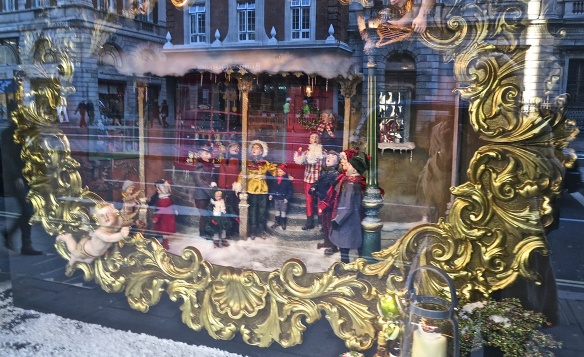Fortnum & Mason Window