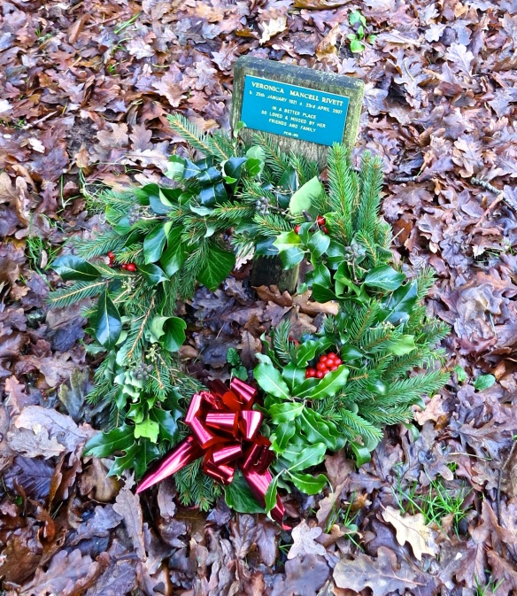 Mum Rivett's wreath