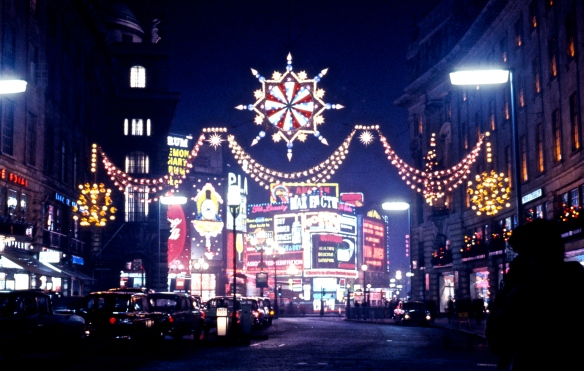 Piccadilly Circus from Regent Street 12.63