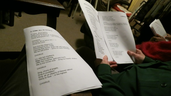 Song sheet collation