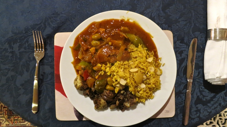 Mixed meat curry