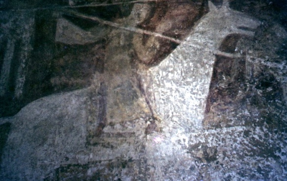 Wall Painting, St Botolph's, Hardham 7.67