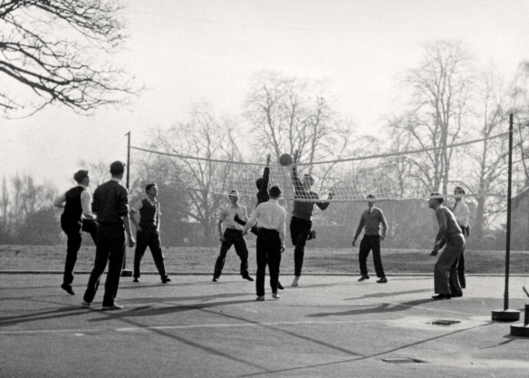 Wimbledon College Volleyball squad 1960
