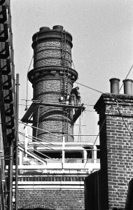 Brewery Tap chimney maintenance 1982