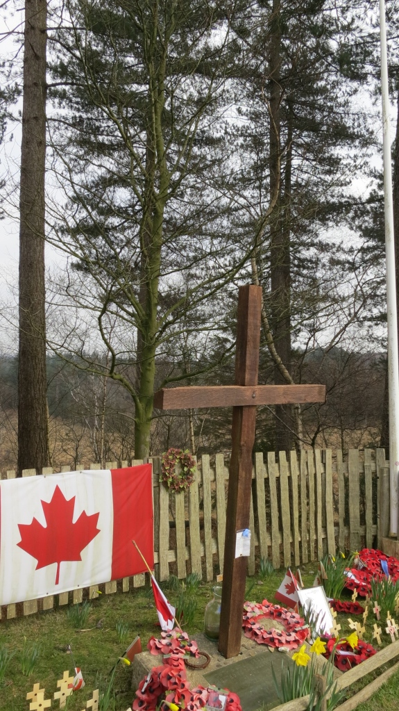 Canadian Cross from left