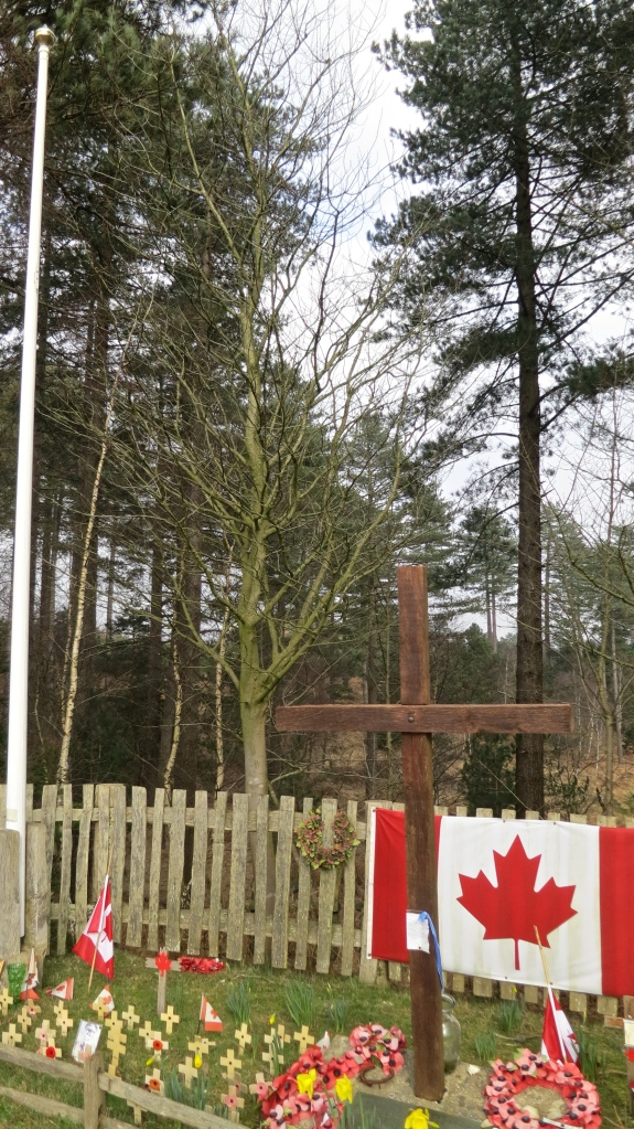 Canadian Cross from right