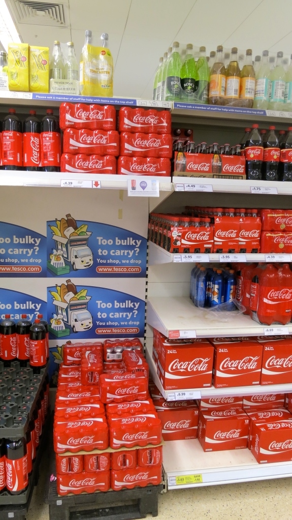 Tesco's Shelves
