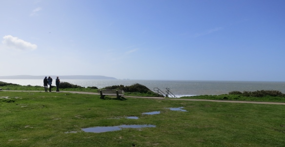 Clifftop with Isle of Wight and The Needles