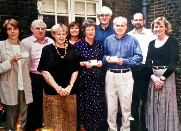 Parents for Children group including Derrick & Eve Herbert late 1980s