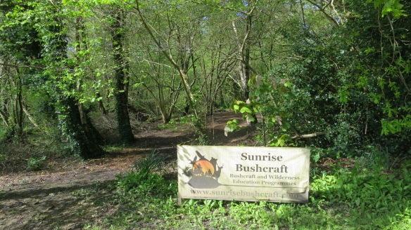 Sunrise Bushcraft sign