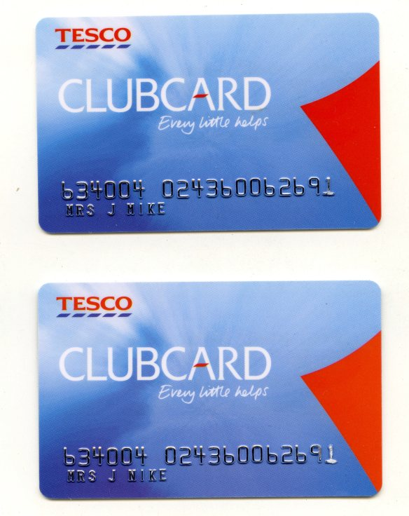 Tesco Clubcards