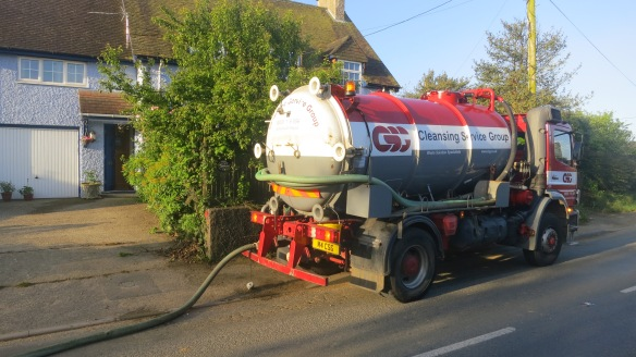 Cleansing Cleaning Services tanker