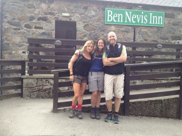 Louisa and Claire at Ben Nevis Inn