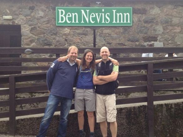 Louisa and Paul at Ben Nevis Inn